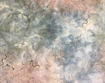 Wilmington Prints - Batavian Batik - Puzzle Rounds - Fabric by the Yard 22113-479