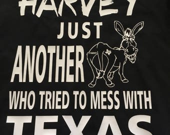 Hurricane Harvey T shirts