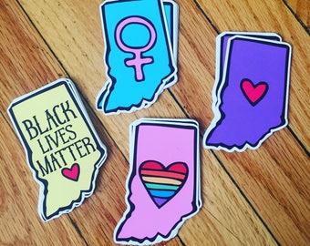 Indiana Sticker *single sticker*