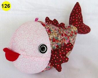 Stuffed Soft Toy Fish 25 x 12 x 15 cm