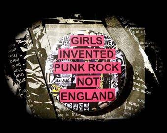 Bottle Opener ' Girls invented Punk Rock Not England '