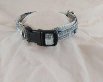 Dallas Cowboys Dog Collar, Dallas Cowboys Cat Collar, Tiny dog collar, Collier de chien, collar de perro,