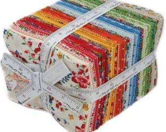 Spring A Ling 34 Fat Quarter Bundle by American Jane for Moda Fabrics 21710AB
