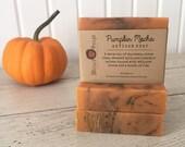 Pumpkin Mocha Artisan Soap - Handmade Soap, Coconut Milk and Shea Butter Soap