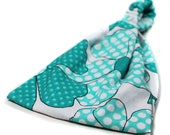 Retro Headband, Turquoise Headwrap, Girl's Headscarf, Wide Headband, Vintage Look Headband (#4327) S M L X