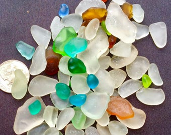A-Sea Glass! Beach Glass! of HAWAII 75 Genuine Sea Glass! Bulk Sea Glass! Seaglass! Bulk Sea glass! Sea glass Bulk! Seaglass