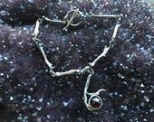 Chain of Bones x Seer Bracelet - Garnet