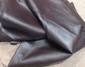 6-869.  Brown Leather Cowhide