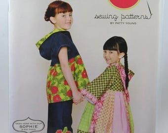 ON SALE Modkid Sydney Euro Hoodies Dress and Top Sewing Pattern, Girl's, Sizes 2T-7, Unopened
