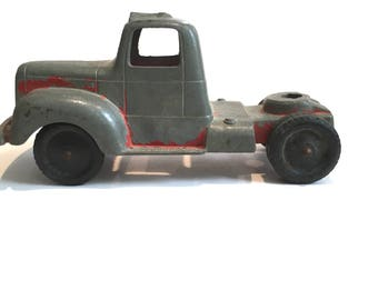 Vintage Toy Semi Truck