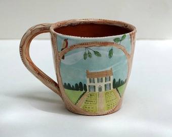 Le Chateau, Coffee Mug, Teacup