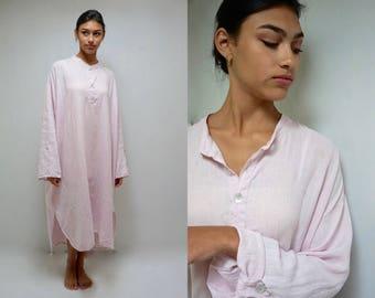 Linen Dress  //  Linen Nightgown  //   Flax Dress  //  THE MOLLY