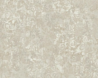 KC1871 Layered Scroll Floral Wallpaper
