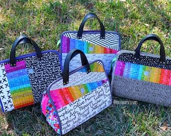 Design Your Own custom made Patchwork Maker's Tote | Project Bag | Travel Bag | Overnight Bag | Purse | Handbag