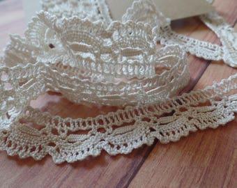 FREE SHIPPING Vintage Lace Antique Lace Crochet Lace