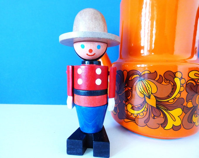 Vintage Canadian Ranger stacking tower toy