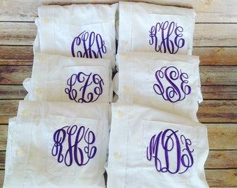 6 Monogrammed Bridesmaid Shirts For Bridal Party