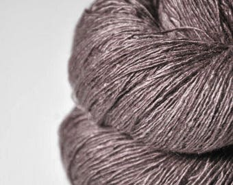 Bleached dead rosewood - Tussah Silk Lace Yarn