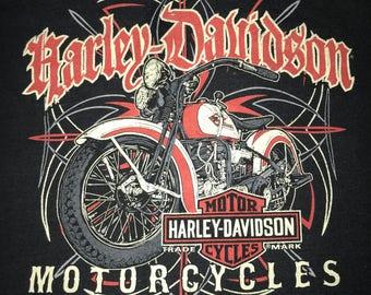 Youth Size L Harley Davidson Tee Tacoma