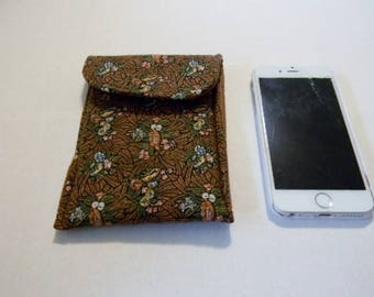 Copper Floral Cell Phone/iPhone Case