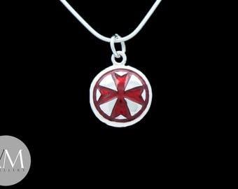 Reverse Maltese Cross Pendant [04]