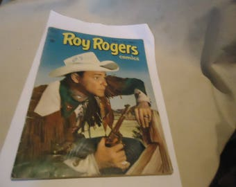 Vintage 1951 Roy Rogers Aug # 46 Comic Book Dell Comics,  collectable