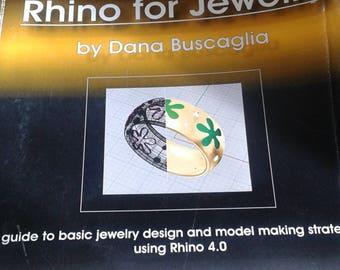 Rhinos For Jewelry by Dana Buscaglia
