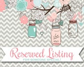 Reserved Listing for amberannandalebrown