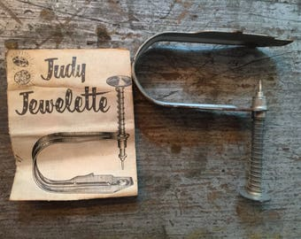 1950's Vintage Judy Jewelette Setter Jewel Machine Bedazzler with Directions