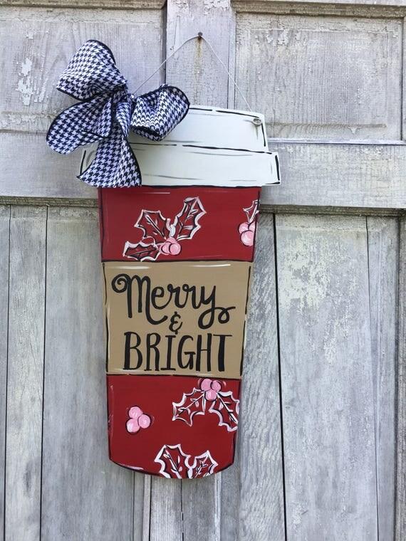 Latte lover sign, Teacher door hanger, pumpkin spice latte sign, latte door hanger, classroom sign, Lilly lover travel mug, latte sign