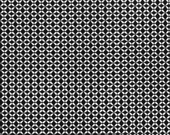 Cotton Fabric - Geo Black and White - By the YARD