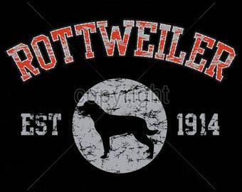 Womens TANK TOP Rottweiler Dog Choose Size and Color 17429