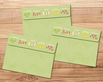 Envelope Pack - Juicy Fruit