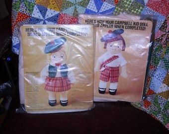 Campbells Soup Doll Kits