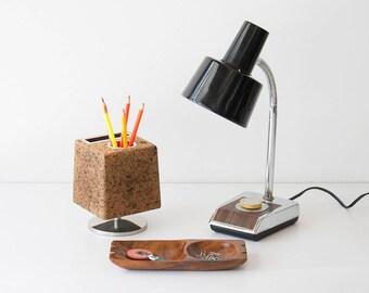 Vintage Mid Century Modern Gooseneck Desk Lamp