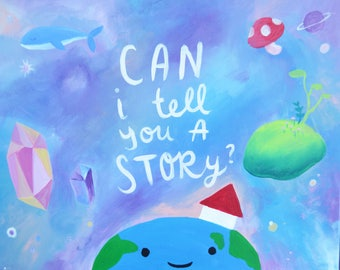 Can I tell you a story? Limited Edition Print