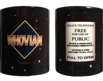 Who Double-Sided Geek Doctor 11oz Ceramic Mug