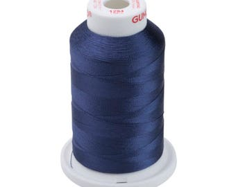 Machine Embroidery Thread Sulky Rayon   1294 Deep Slate Gray   Navy