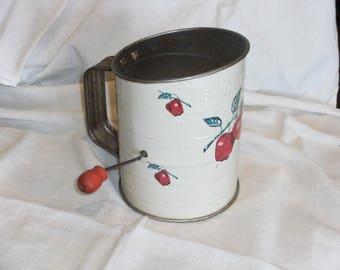 Vintage Metal Flour Sifter