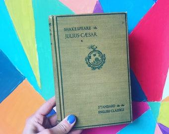 William Shakespeare Julius Caesar 1902 Standard English Classics - Hardcover