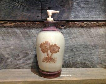Montana Bitterroot Lotion/Soap Dispenser