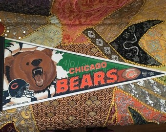 Vintage Chicago Bears Pennant