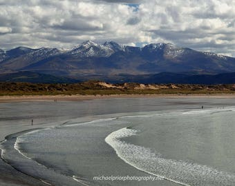 inch beach and the kerry mountains
