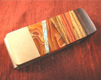 Dad Birthday Gift Money Clip for Dad Christmas Gift MC573