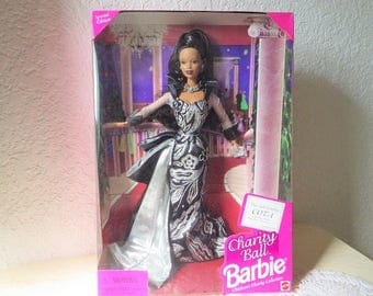 Charity Ball Barbie Doll, African American Version, NRFB, 1997