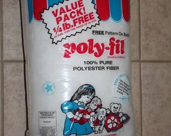Fairfield Poly-Fil Polyester Fiberfill Stuffing 24 oz Bag