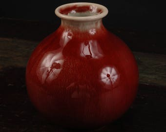 Gladding McBean Oxblood Vase