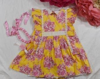 Odette Floral Dress ~ Size 5 ~ OOAK
