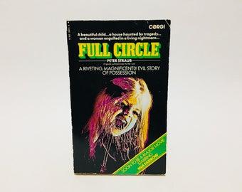 Vintage Supernatural Book Full Circle AKA Julia by Peter Straub 1975 UK Edition Paperback