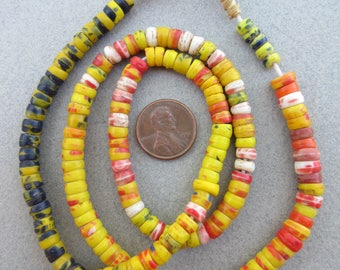 African Kankamba Glass Beads
